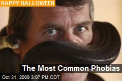 The Most Common Phobias