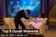 Top 9 Oprah Moments