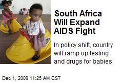 South Africa Will Expand AIDS Fight