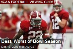 Best, Worst of Bowl Season