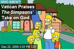Vatican Praises The Simpsons' Take on God