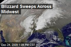 Blizzard Sweeps Across Midwest