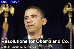 Resolutions for Obama and Co.