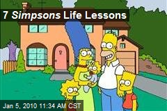 7 Simpsons Life Lessons