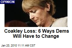 Coakley Loss: 6 Ways Dems Will Have to Change