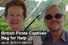 British Pirate Captives Beg for Help