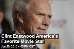 Clint Eastwood America's Favorite Movie Star