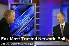 Fox Most Trusted Network: Poll