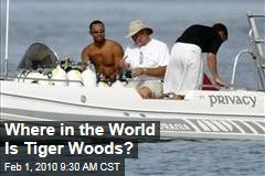 Where in the World Is Tiger Woods?