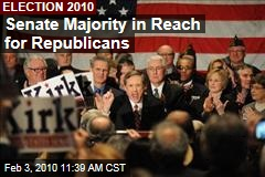 Senate Majority in Reach for Republicans