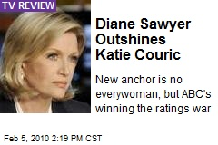 Diane Sawyer Outshines Katie Couric