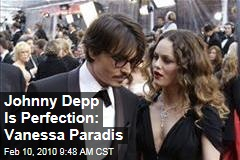 Johnny Depp Is Perfection: Vanessa Paradis