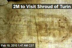 2M to Visit Shroud of Turin