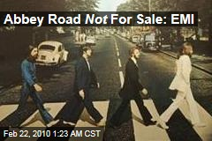 Abbey Road Not For Sale: EMI
