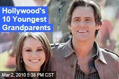 Hollywood's 10 Youngest Grandparents
