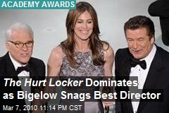 The Hurt Locker Dominates as Bigelow Snags Best Director