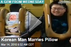 Korean Man Marries Pillow