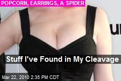 Stuff I've Found in My Cleavage