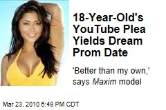 18-Year-Old's YouTube Plea Yields Dream Prom Date