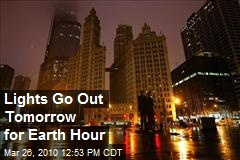 Lights Go Out Tomorrow for Earth Hour