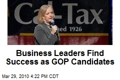 Business Leaders Find Success as GOP Candidates