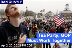 Tea Party, GOP Must Work Together