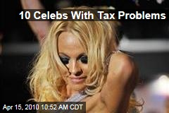 10 Celebs With Tax Problems