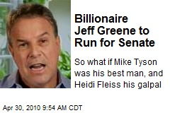 Billionaire Jeff Greene to Run for Senate