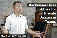 Blackwater Boss Lobbies for Private Assassin Teams