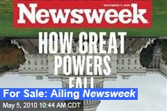 For Sale: Ailing Newsweek