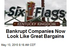 Bankrupt Companies Now Look Like Great Bargains
