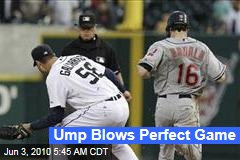 Ump Blows Perfect Game