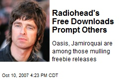 Radiohead's Free Downloads Prompt Others