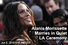 Alanis Morissette Marries in Quiet LA Ceremony
