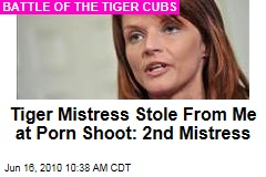 Tiger Mistress Stole From Me at Porn Shoot: 2nd Mistress