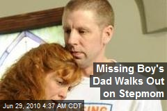 Dad Walks Out on Missing Son's Stepmom