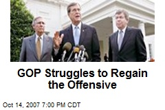 GOP Struggles to Regain the Offensive