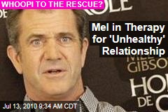 Mel in Therapy for 'Unhealthy' Relationship