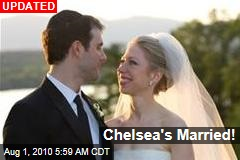 Chelsea's Married!