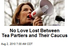 No Love Lost Between Tea Partiers and Their Caucus