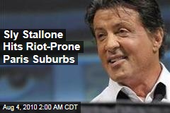 Sly Stallone Reaches Out to Paris Ghetto