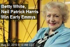 Betty White, Neil Patrick Harris Win Early Emmys