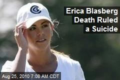 Erica Blasberg Death Ruled a Suicide