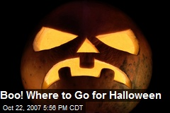 Boo! Where to Go for Halloween