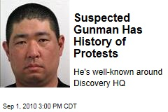 Suspected Gunman Has History of Protests